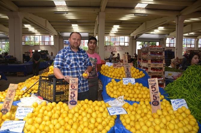 Limon Fiyatları Vatandaşın Yüzünü Ekşitiyor