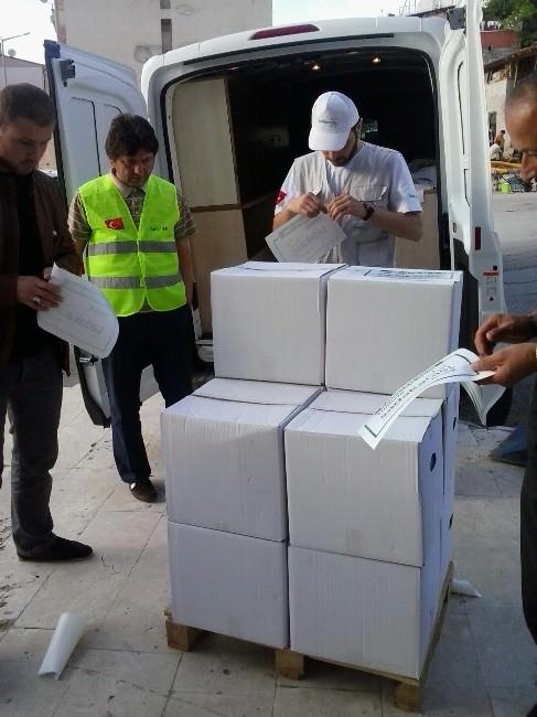 Müs-der Kumanya Paketi Dağıtımına Devam Ediyor