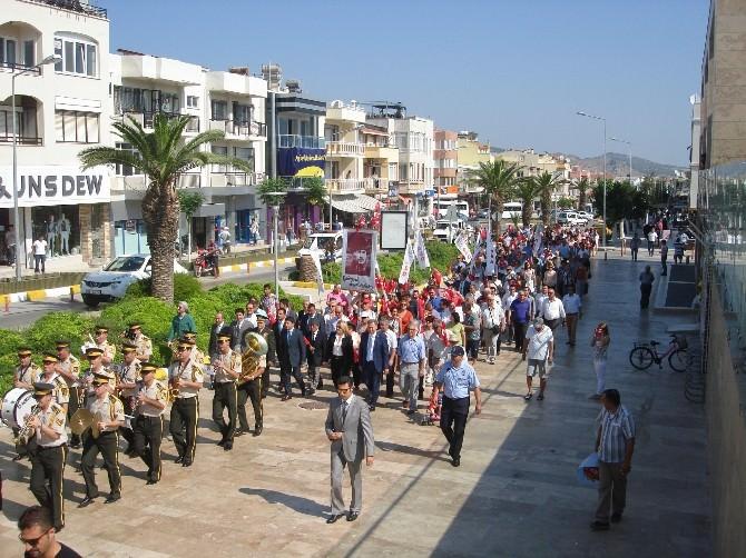 Atatürk'ün Urla'ya Gelişinin 89. Yılı Kutlandı