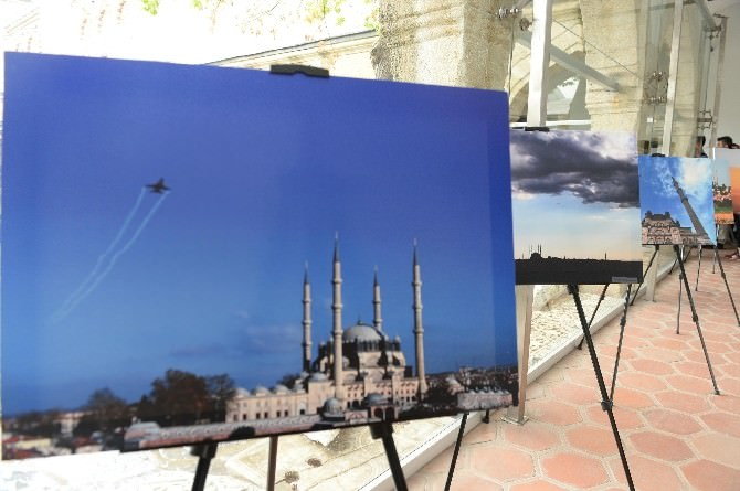 'Ufukların Tacı Selimiye' Fotoğraf Sergisi Açıldı