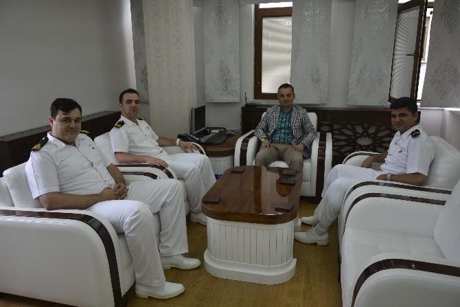 Komutanlardan Belediyeye Ziyaret