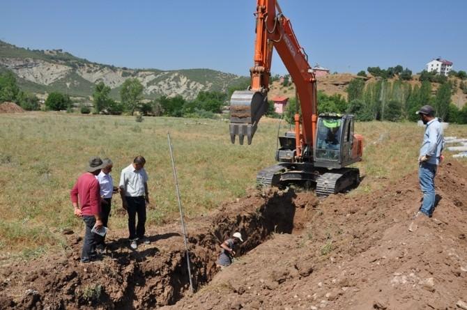 Tunceli Belediyesi'nden Altyapı Çalışmaları