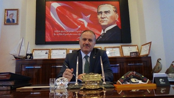 Kaymakam Ahmet Katırcı'dan Veda