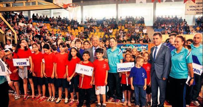 Kırıkkale'de yaz spor okulları açıldı