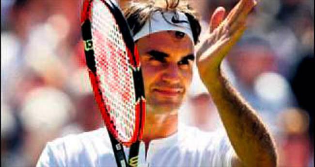 Federer'den kusursuz start