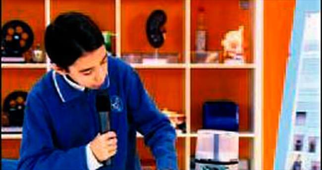 5'inci sınıf öğrencisi cihaz üretti