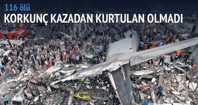 Şehir merkezine 'Herkül' düştü: 116 ölü