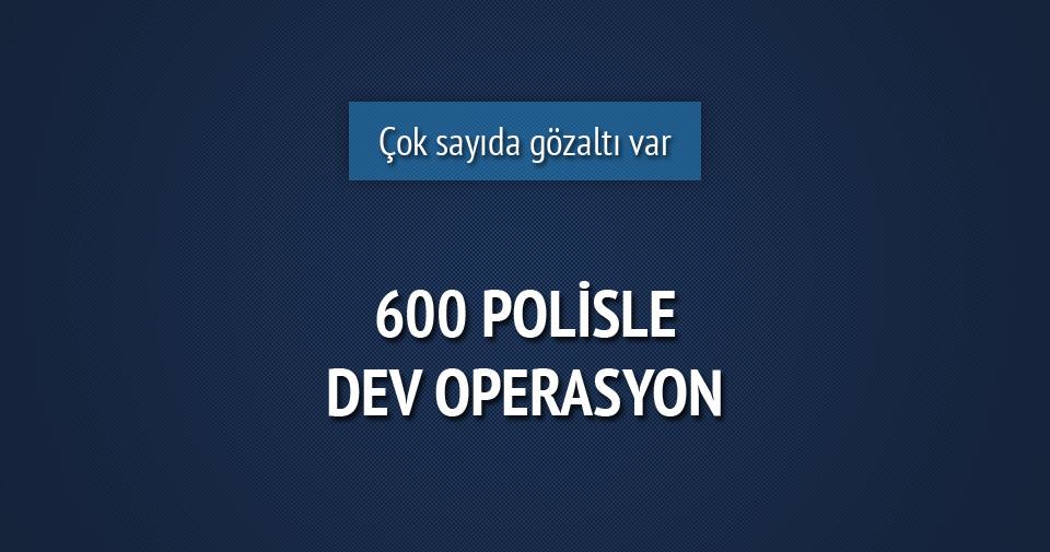 Edirne'de büyük çaplı operasyon