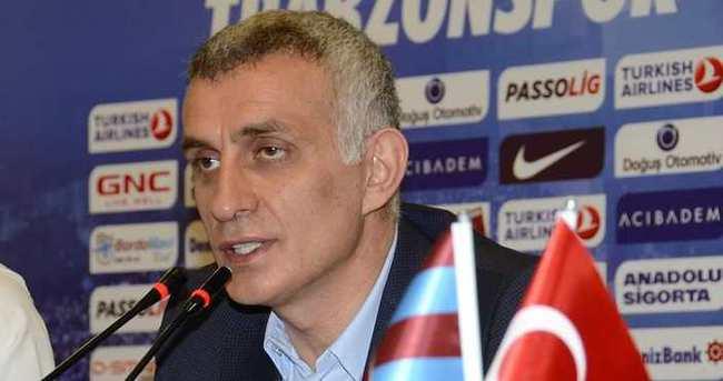 Hacıosmanoğlu: Trabzonspor'u satmam