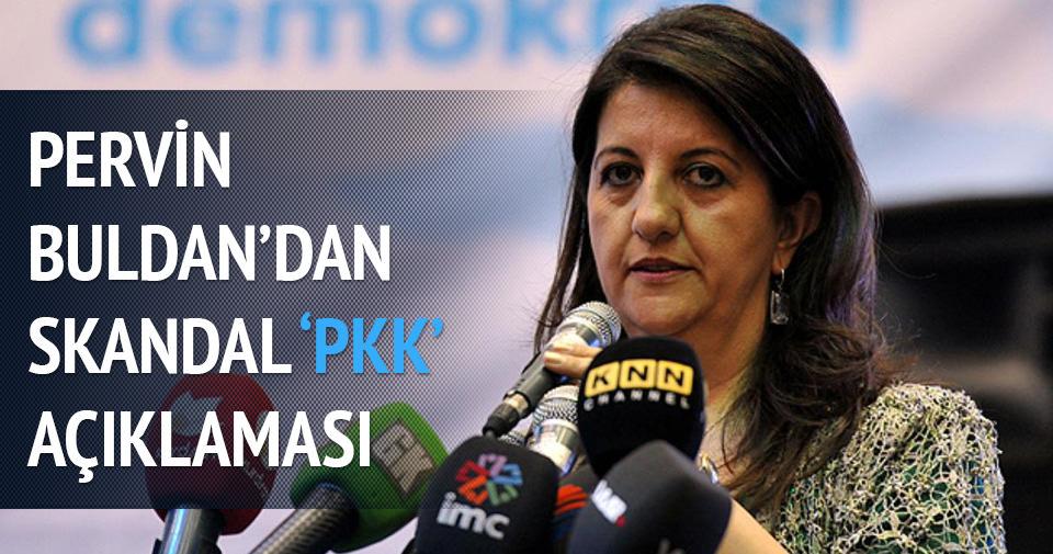 Pervin Buldan'dan skandal PKK açıklaması