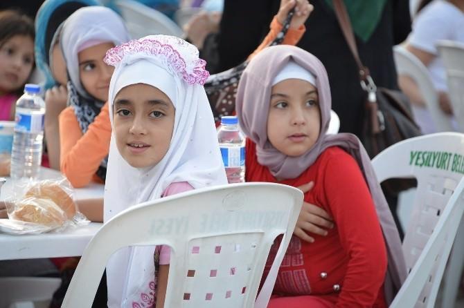 600 Çocuğun İlk İftar Heyecanı