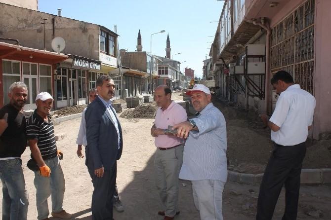 Ahlat'ta Cadde Ve Sokaklar Sil Baştan Yenileniyor