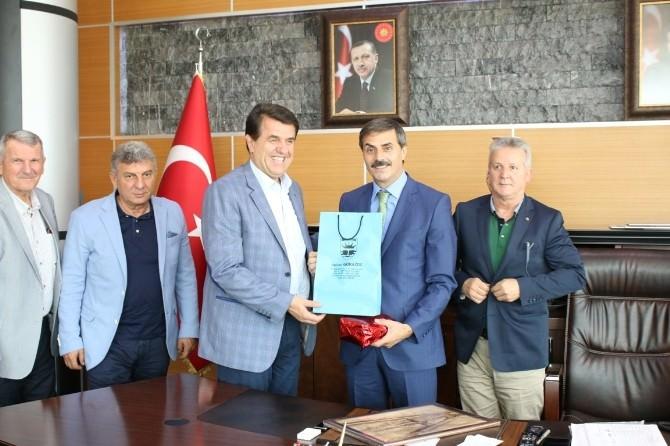 Bosna - Hersek Gorazde Belediye Başkanından Başkan Alemdar'a Ziyaret