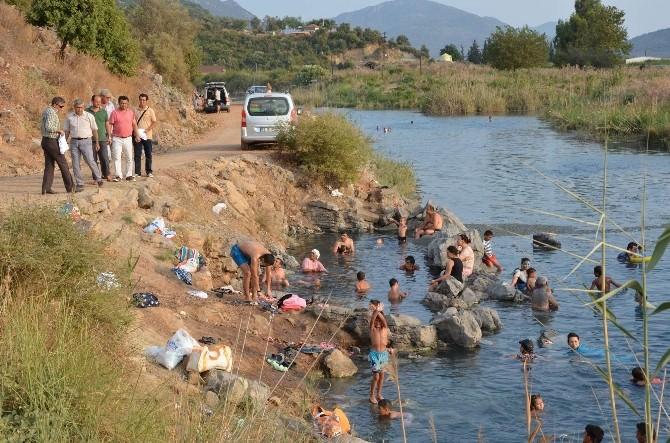 Dalaman'da Şifalı Kükürt Suyu Turizme Kazandırılıyor