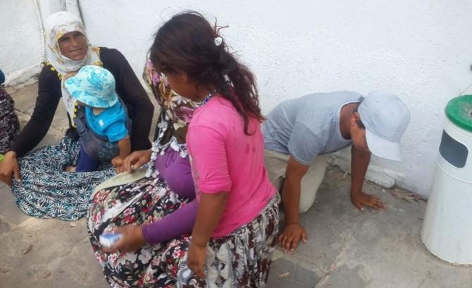 Bodrum'da Turistleri Rahatsız Eden Dilenci Operasyonu
