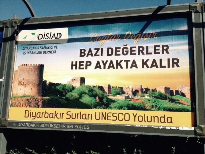 DİSİAD'dan Diyarbakır'a Billboardlı Destek