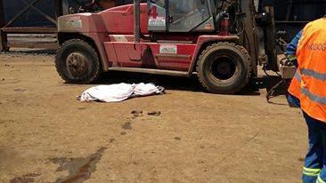 Forkliftin Altında Kalan İşçi Hayatını Kaybetti