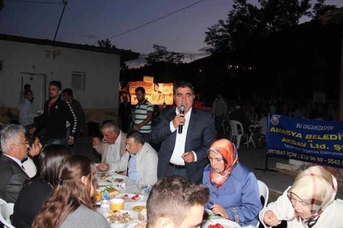 Başkan Özdemir Karasenirlilerle İftar Yaptı