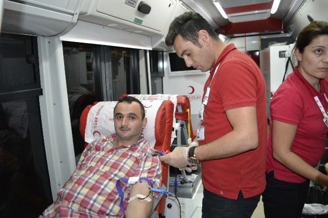 Alaplı'da Kan Bağışı Kampanyası Düzenlendi