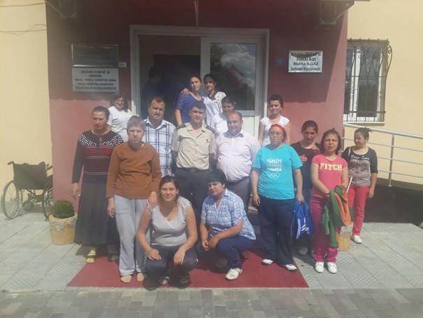 Yüzbaşı Enginar'dan Rehabilitasyon Merkezine Ziyaret