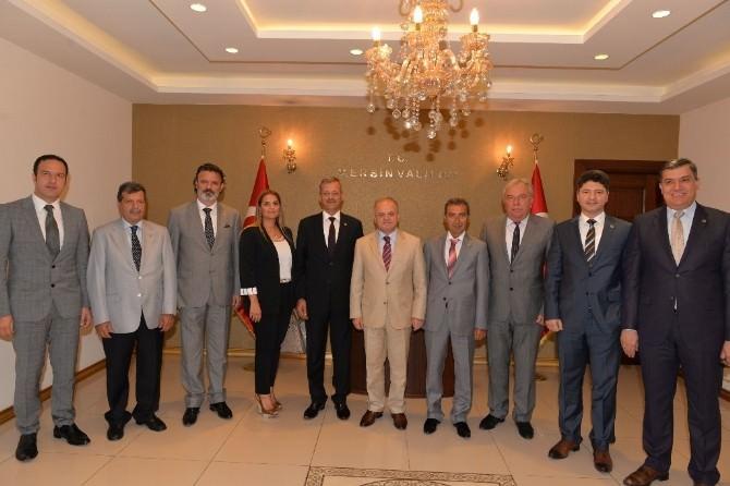 Mtosb Yönetiminden Vali Çakacak'a Ziyaret