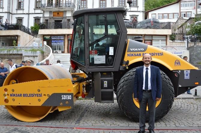 Niksar Belediyesi Araç Parkını Güçlendirdi