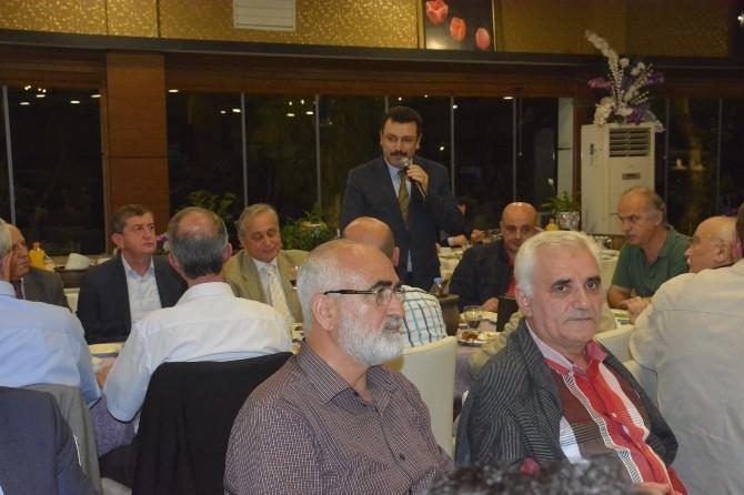 AK Parti'nin Trabzon'daki Kurucuları İftarda Buluştu