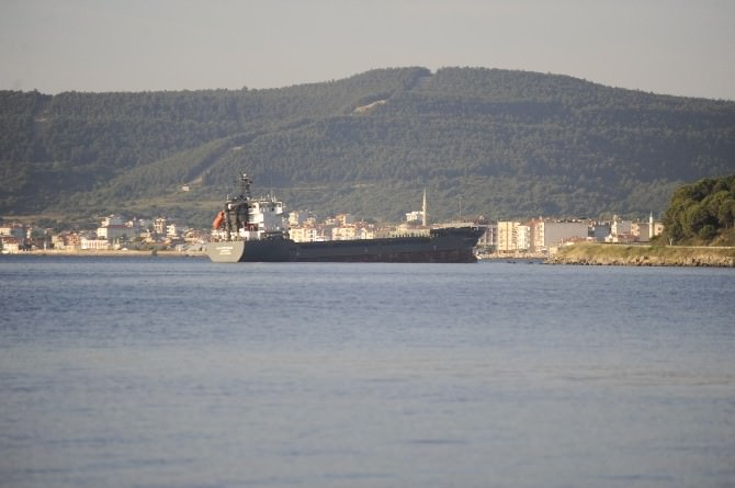 Amonyum Sülfat Yüklü Gemi Karaya Oturdu