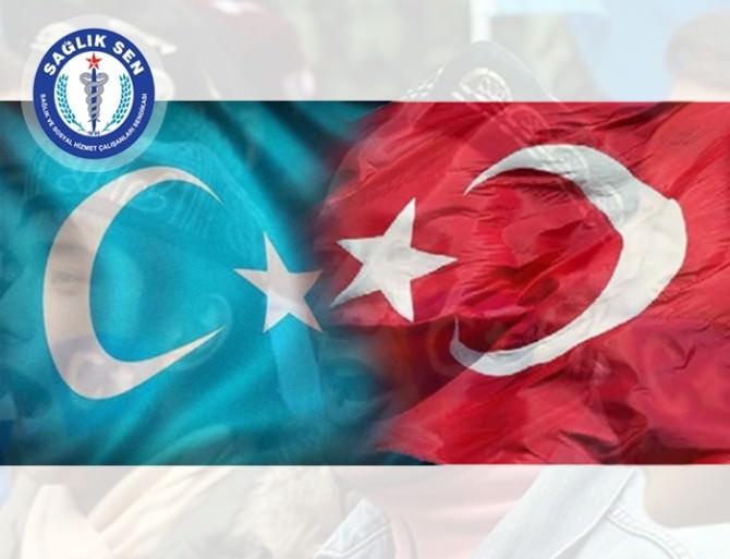 """Karaer: """"Doğu Türkistan'ın Sesini Duyun"""""""
