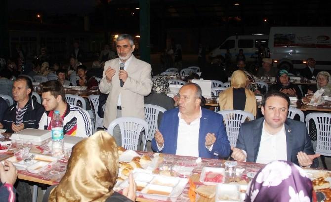 Taşköprü Belediyesi'nin Mahalle İftarları Devam Ediyor