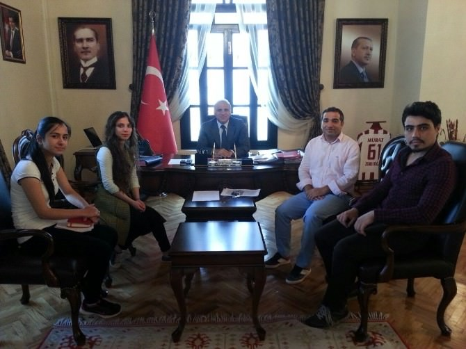 Türkiye Gençlik Konseyi'nden Vali Zorluoğlu'na Ziyaret