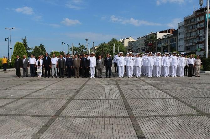 Kdz . Ereğli'de Denizcilik Ve Kabotaj Bayramı Töreni Düzenlendi