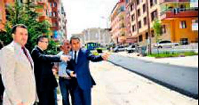 Altındağ'a tam 100 bin ton asfalt