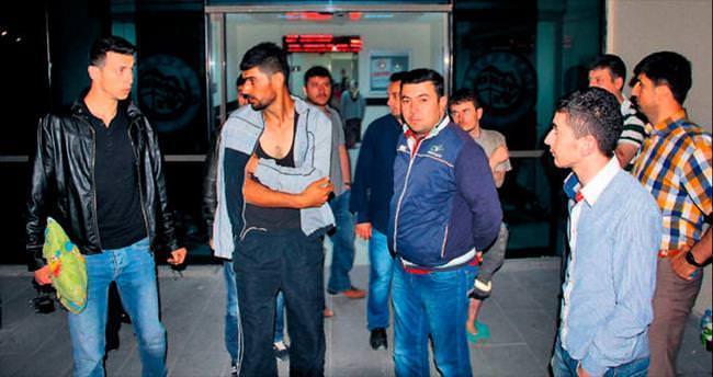 Çayırhan'da madenciler yangından ucuz kurtuldu