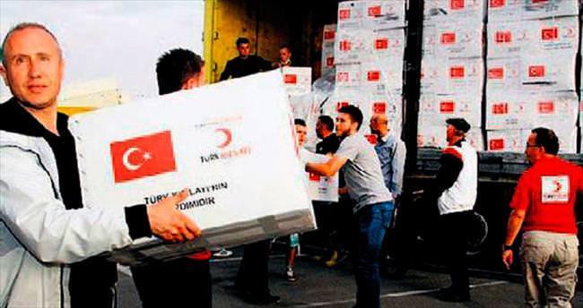 İnsani yardımlar Şam'a kadar ulaştı