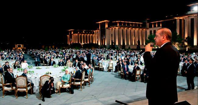 Cumhurbaşkanlığı personeline iftar