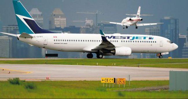 WestJet uçağına yine bomba ihbarı
