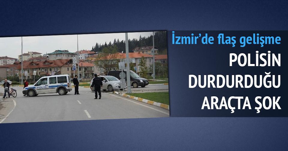 İzmir'de 14 kilo patlayıcı ele geçirildi