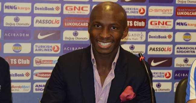 Trabzonspor, M'bia ile sözleşme imzaladı