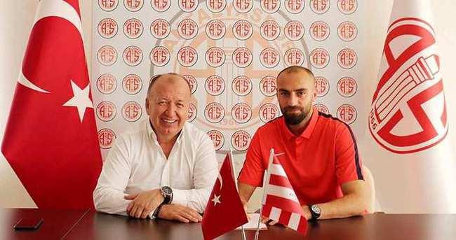 Kadir Bekmezci 2 yıl Antalyaspor'da