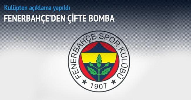 Fenerbahçe'den çifte bomba
