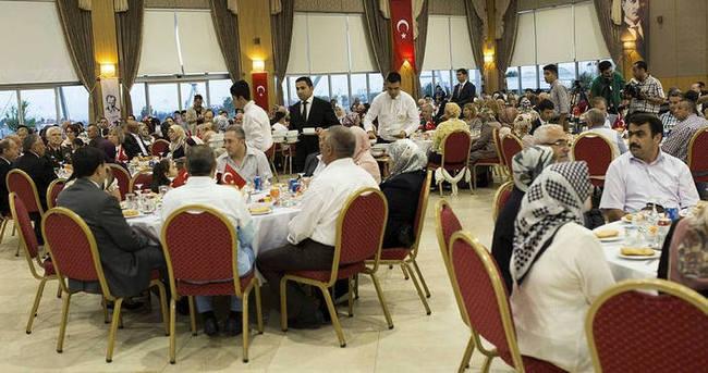 İstanbul Valiliği'nden şehit ailelerine iftar