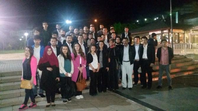 AK Parti Yozgat Gençlik Kolları Sivas Gençlik Kollarını İftarda Ağırladı