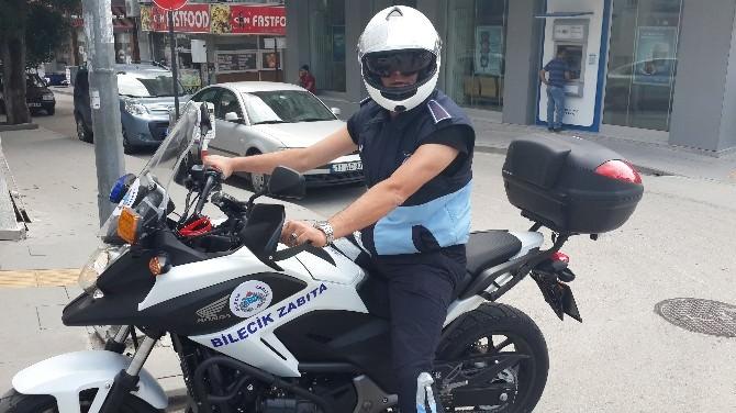 Bilecik Belediyesi Zabıta Müdürlüğü'nden Motorize Ekip