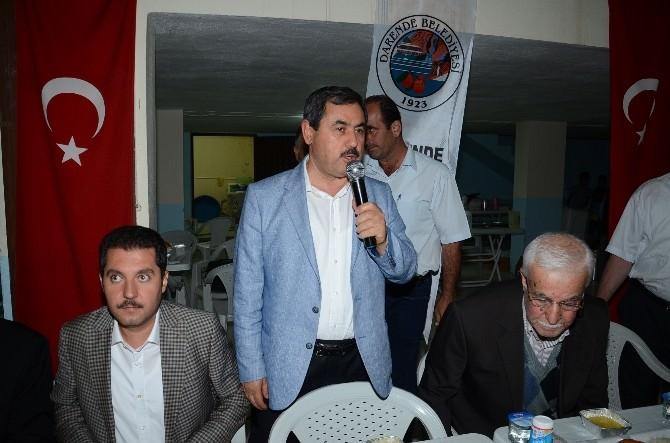 Darende Belediyesi'nden Ilıca'da İftar İkramı
