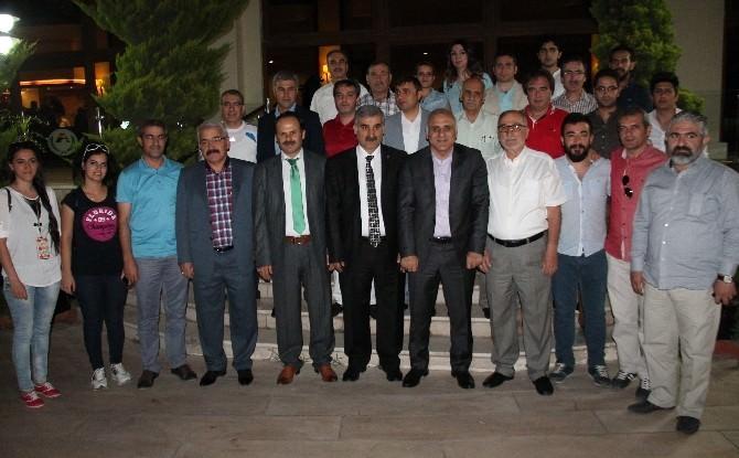 Vali Zorluoğlu, Gazetecilerle Bir Araya Geldi