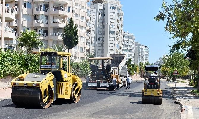 Eski Lara Caddesi Yenileniyor