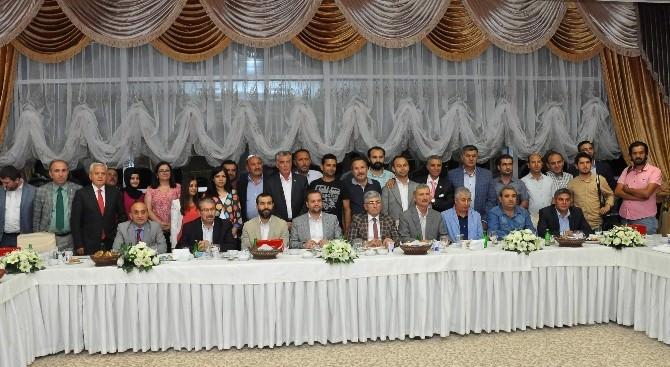 İç Anadolu Basını Kırşehir'de İftarda Buluştu