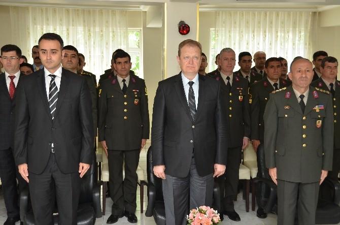 Gümüşhane İl Jandarma Komutanlığı'nda Şilt Takdim Töreni Yapıldı