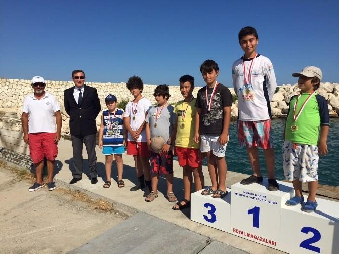 Minik Yelkenciler Kabotaj Bayramı'nı Yarışlarla Kutladı